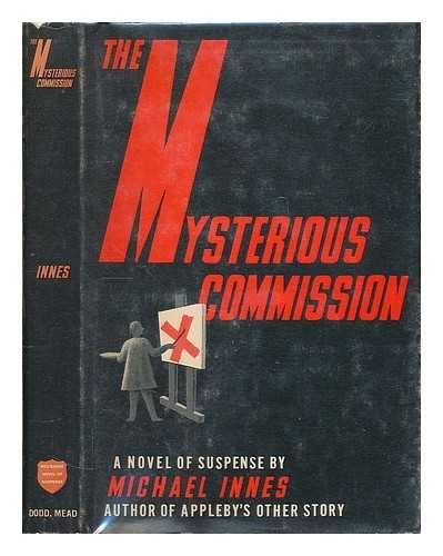 9780396071341: The Mysterious Commission (A Red Badge Novel of Suspense)