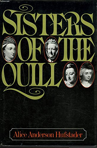 Sisters of the quill: Hufstader, Alice Anderson