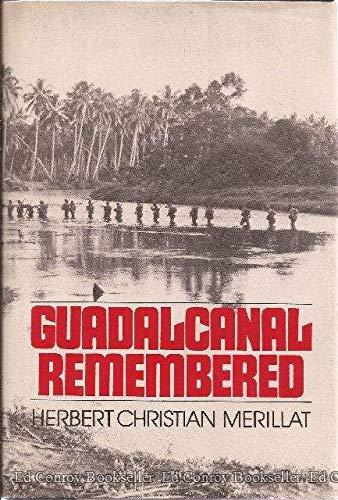 9780396080480: Guadalcanal remembered