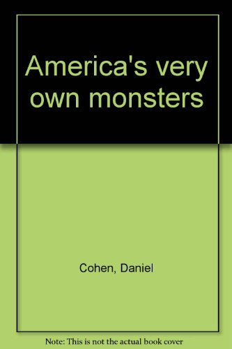 9780396080695: America's very own monsters