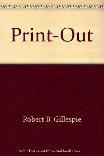 Print-out: Gillespie, Robert B