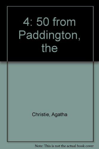 The 4:50 from Paddington: Christie, Agatha