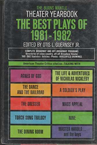 9780396081241: The Best Plays of 1981-1982