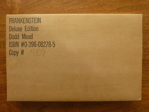 9780396082781: Frankenstein: Or The Modern Prometheus (Signed Limited Edition)
