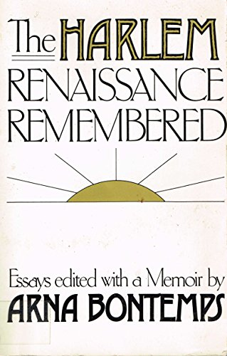 9780396084327: Harlem Renaissance Remembered: Essays