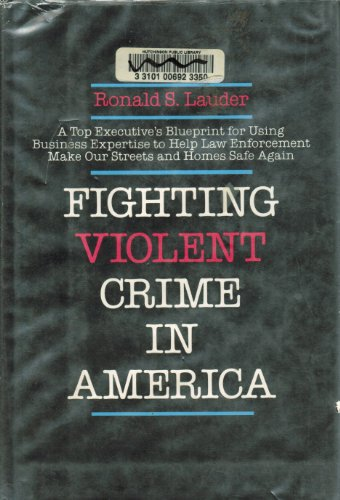 9780396084952: Fighting Violent Crime in America