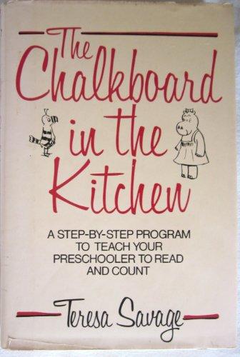 The Chalkboard in the Kitchen: Savage, Teresa
