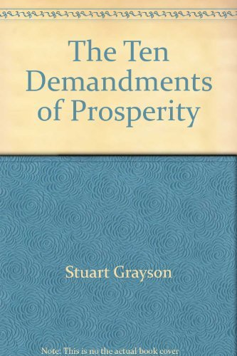9780396085898: The Ten Demandments of Prosperity