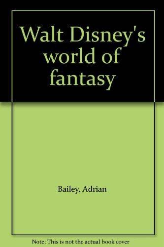 9780396085911: Walt Disney's world of fantasy