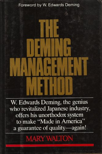9780396086833: The Deming Management Method