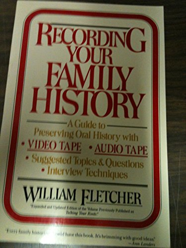 9780396088875: Recording Your Family History