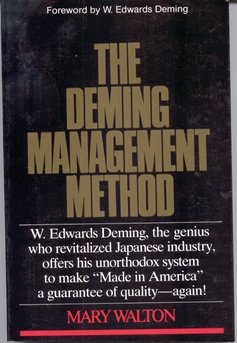 9780396088950: The Deming Management Method