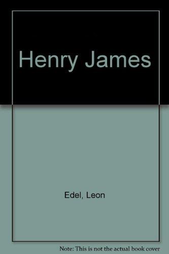 9780397010097: Henry James