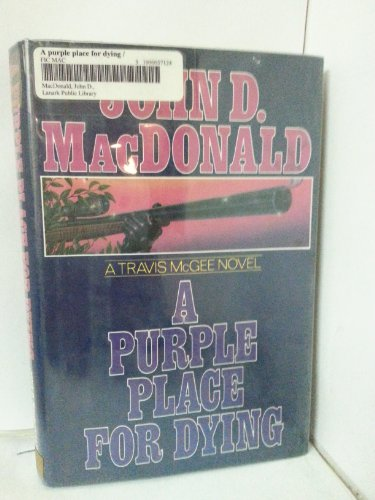 9780397011667: A Purple Place for Dying