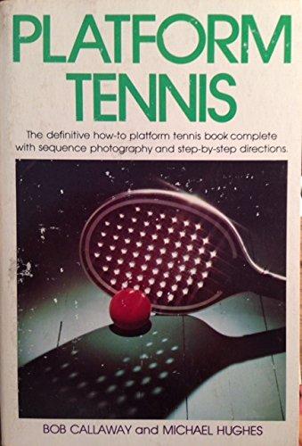 9780397011988: Platform Tennis