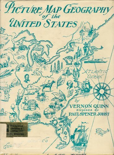 9780397302468: Picture Map Geography of the United States