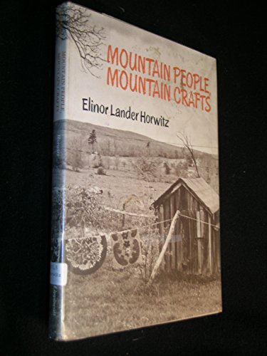 9780397314980: Mountain people, mountain crafts
