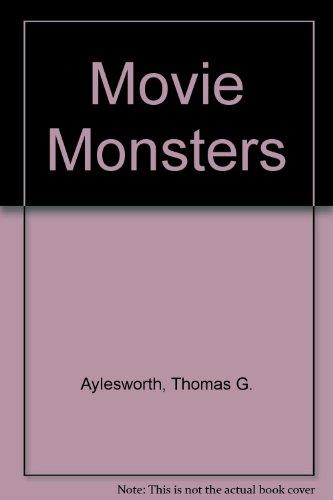 9780397316397: Movie Monsters