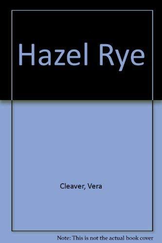 9780397319510: Hazel Rye