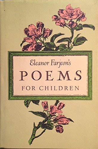 9780397320912: Eleanor Farjeon's Poems for Children