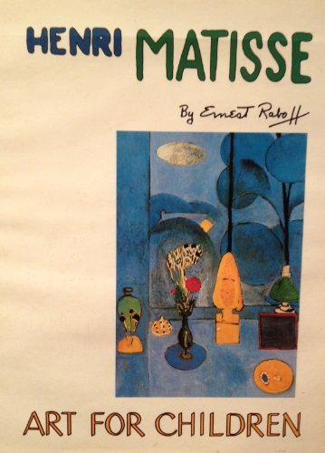 9780397322381: Henri Matisse (Art for children)