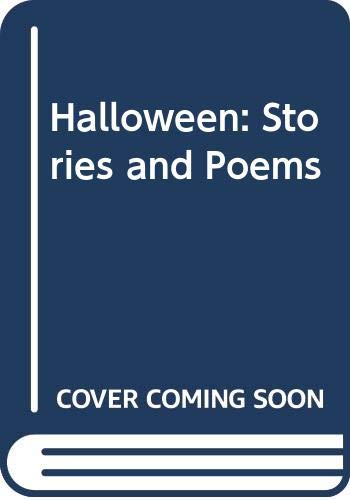 9780397323005: Halloween: Stories and Poems