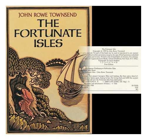 9780397323654: The Fortunate Isles: A Novel