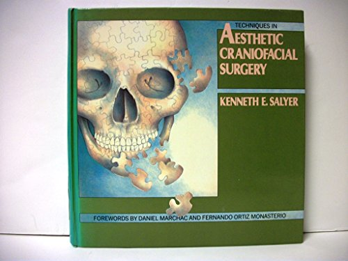 9780397446520: Techniques in Aesthetic Craniofacial Surgery