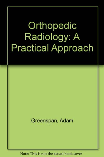 9780397446605: Orthopedic Imaging: A Practical Approach