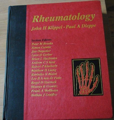 Rheumatology: Klippel, John H.;