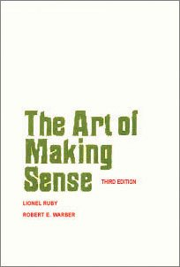 9780397473045: The Art of Making Sense : A Guide to Logical Thinking