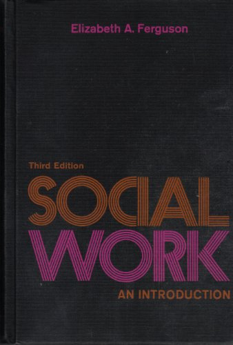 9780397473229: Social work: An introduction