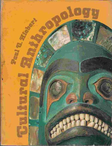Cultural anthropology: Hiebert, Paul G