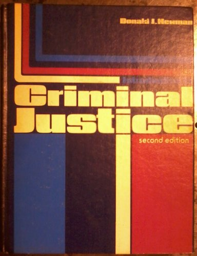 Introduction to criminal justice: Newman, Donald J