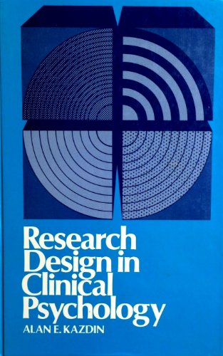 9780397474035: Research Design in Clinical Psychology