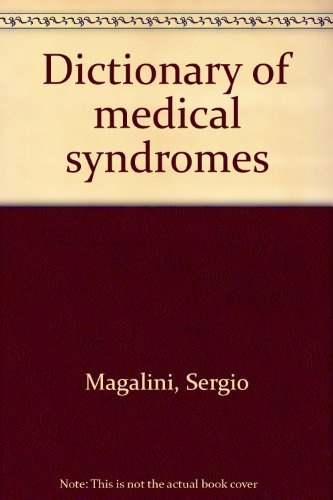 9780397502783: Dictionary of Medical Syndromes