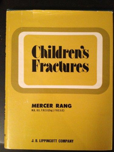 9780397503384: Children's Fractures
