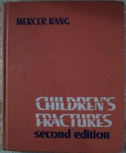9780397504763: Children's Fractures