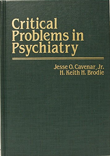 9780397504909: Critical Problems in Psychiatry