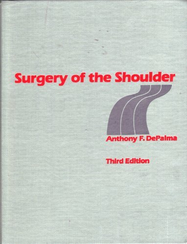 9780397504923: Surgery of the Shoulder
