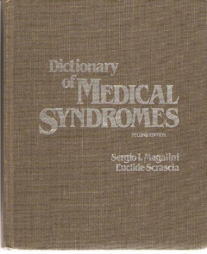 9780397505036: Dictionary of Medical Syndromes