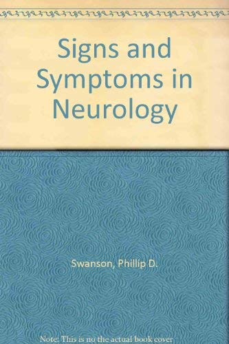 9780397505524: Signs and Symptoms in Neurology