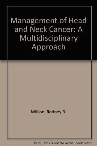 9780397506194: Management of Head and Neck Cancer: A Multidisciplinary Approach