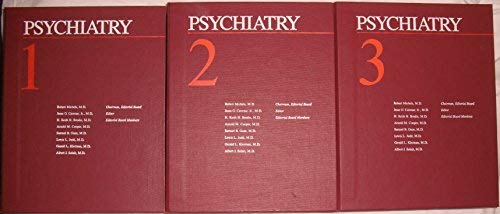 Psychiatry: Volumes 1-3 & Index.: Michels, Robert (chairman, Editorial Board); Et Al, Editors.