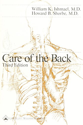 9780397507108: Care of the Back
