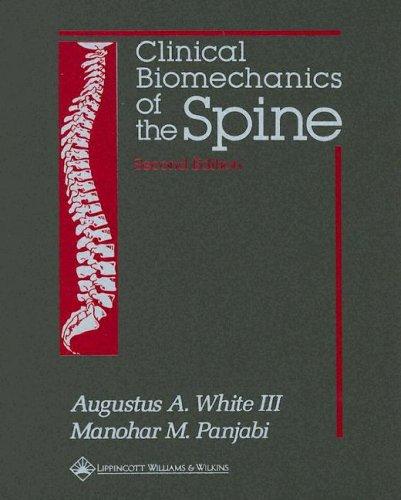 9780397507207: Clinical Biomechanics of the Spine