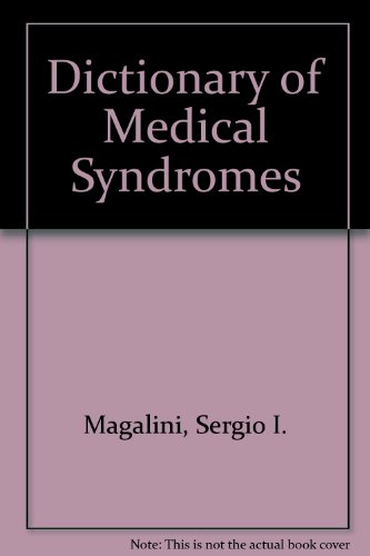 9780397508822: Dictionary of Medical Syndromes