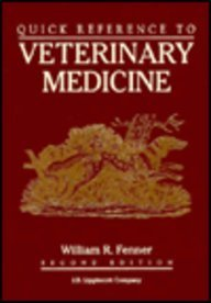 9780397508952: Quick Reference to Veterinary Medicine