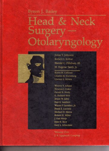 9780397511204: Head and Neck Surgery- Otolaryngology (2 Volume Set)