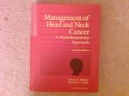 9780397512089: Management of Head and Neck Cancer: A Multidisciplinary Approach